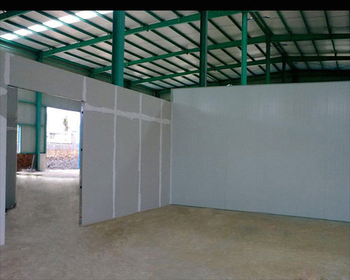 Calcium Silicate Board for wall board - Workshop project